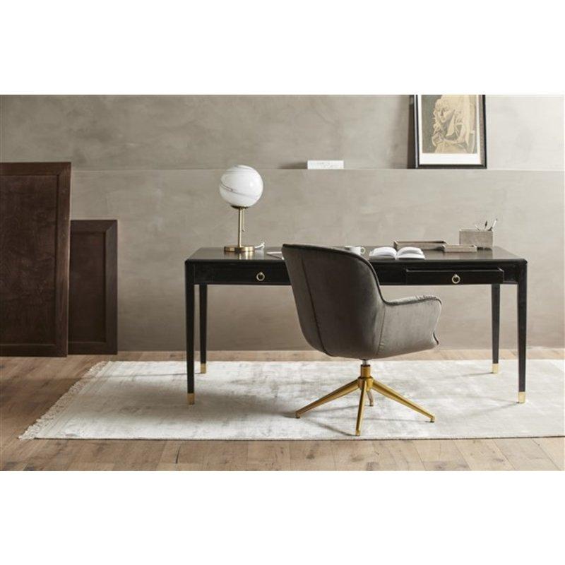 Nordal-collectie Bureaustoel LEA velvet bruin