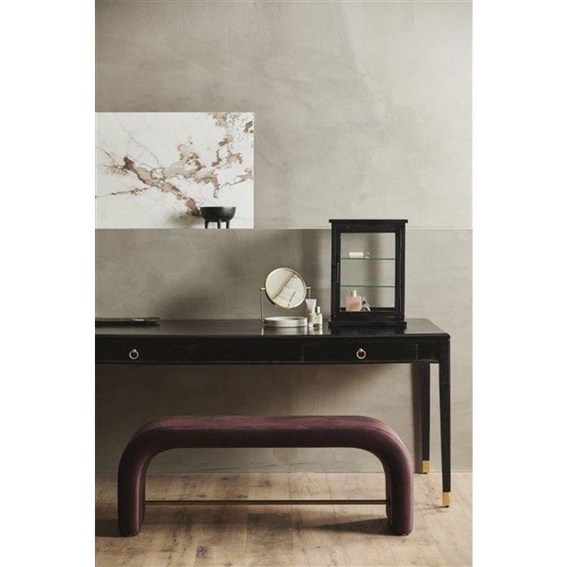 Nordal-collectie HAJA table mirror, golden