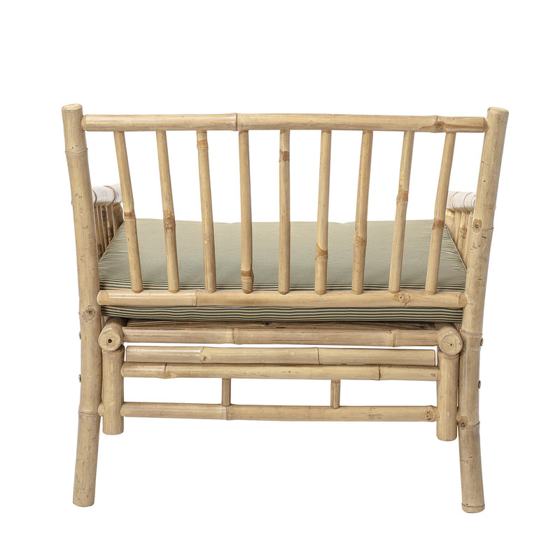 Bloomingville-collectie Sole Lounge Chair Nature Bamboo