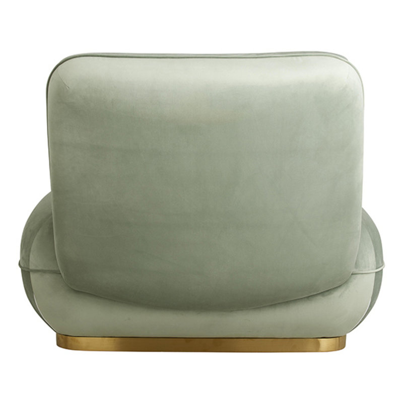 Nordal-collectie ISEO lounge chair, mint green