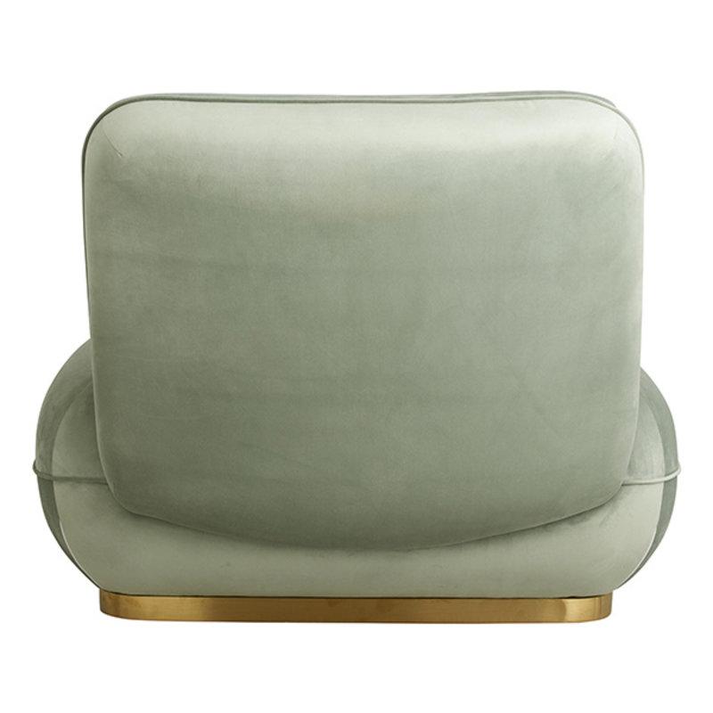 Nordal-collectie Lounge stoel ISEO mintgroen