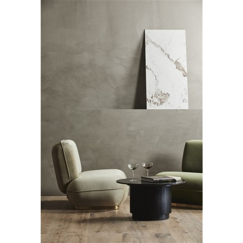 Nordal-collectie ISEO lounge chair, sand