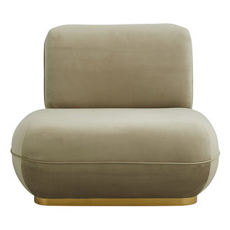 Nordal ISEO lounge chair, sand