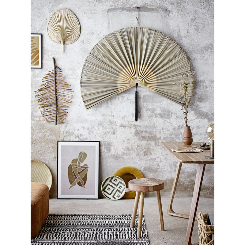 Bloomingville-collectie Wall Decor, Black, Bamboo