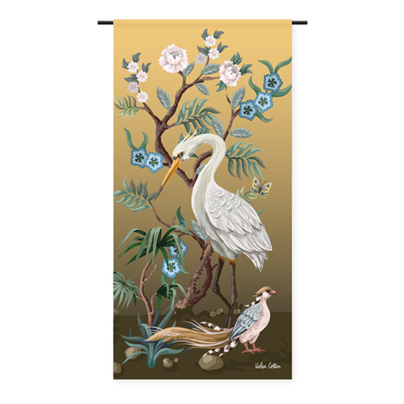 Urban Cotton Amsterdam-collectie Wandkleed Birds