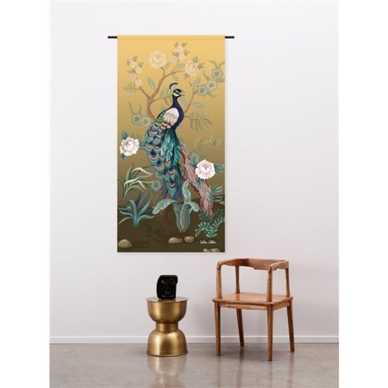 Urban Cotton Amsterdam-collectie Wandkleed Peacock