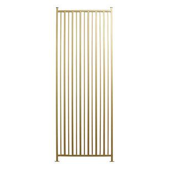 Nordal ORCO room divider, golden metal