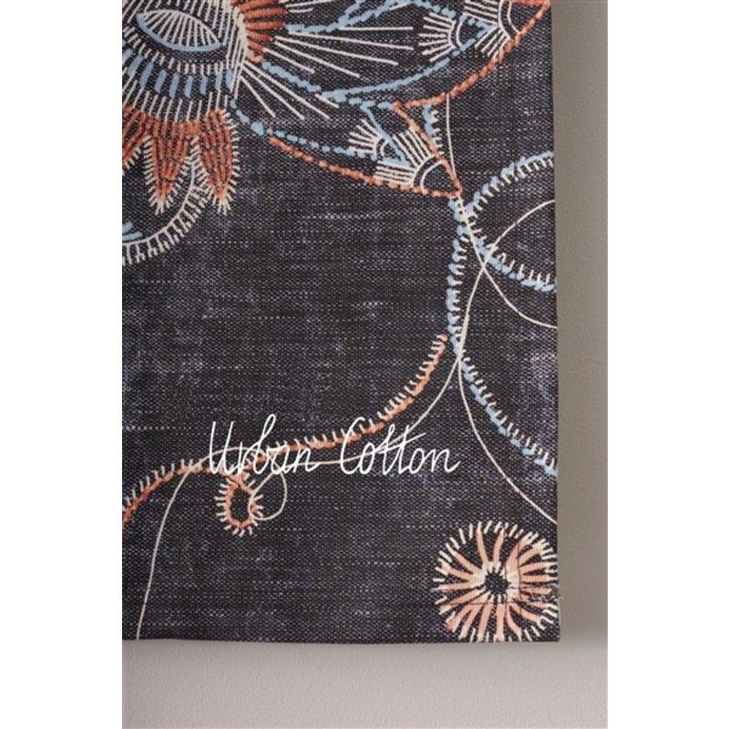 Urban Cotton Amsterdam-collectie Walldecoration Black Denim