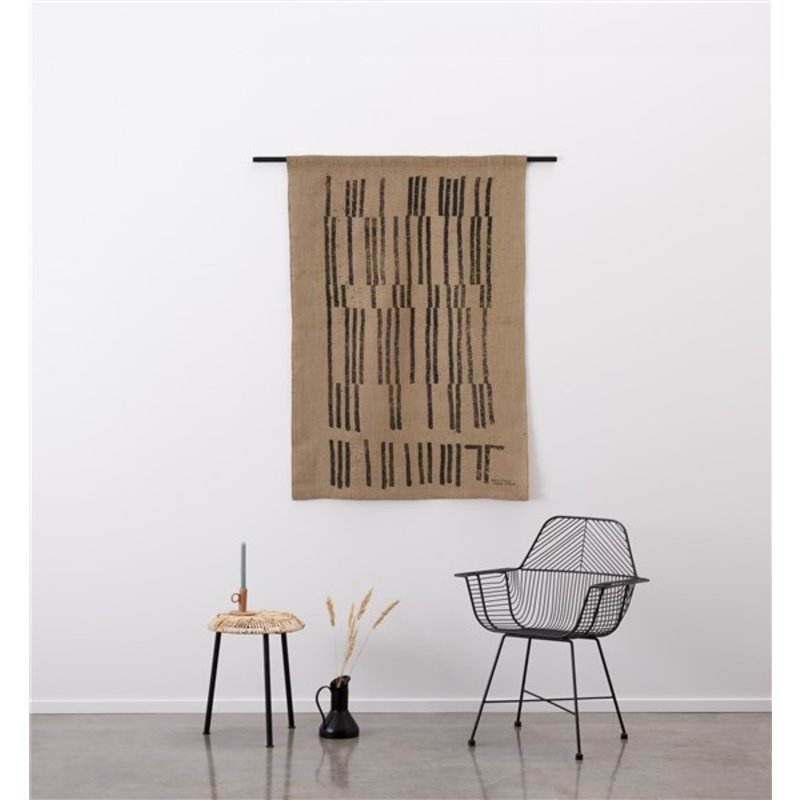 Urban Cotton Amsterdam-collectie Walldecoration Dirty Count