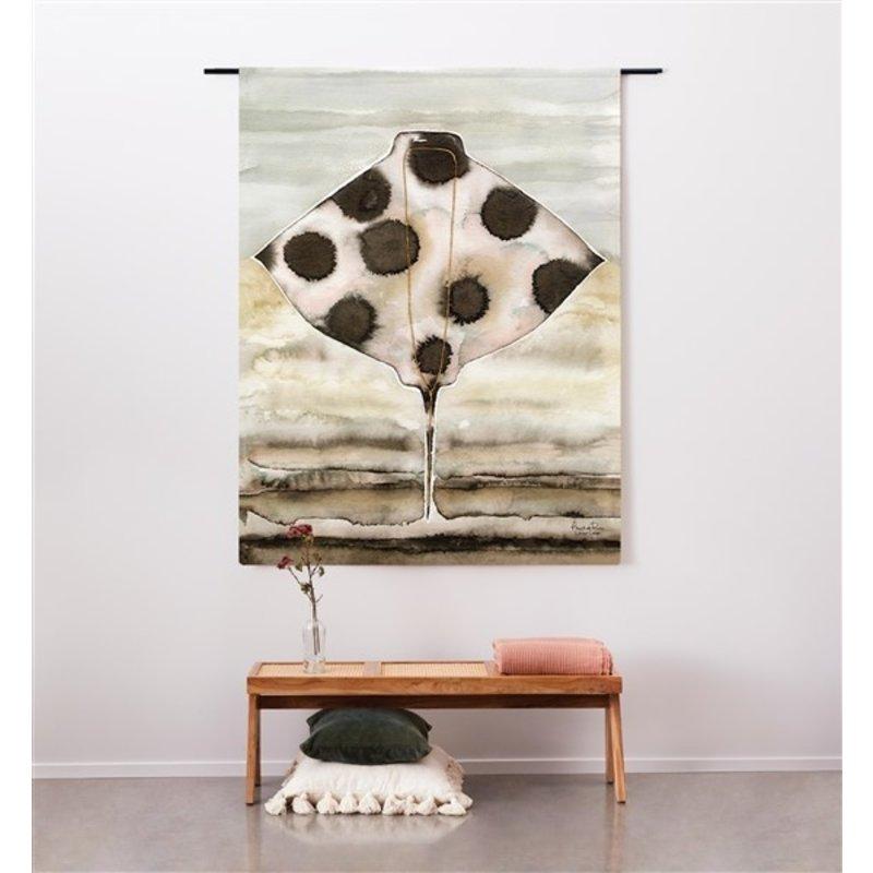 Urban Cotton Amsterdam-collectie Wandkleed Eagle Ray