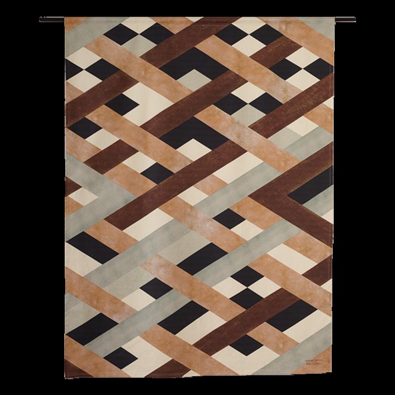 Urban Cotton Amsterdam-collectie Wandkleed Timber