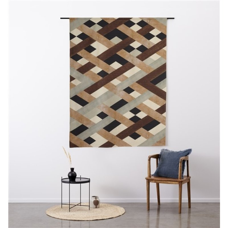 Urban Cotton Amsterdam-collectie Walldecoration Timber
