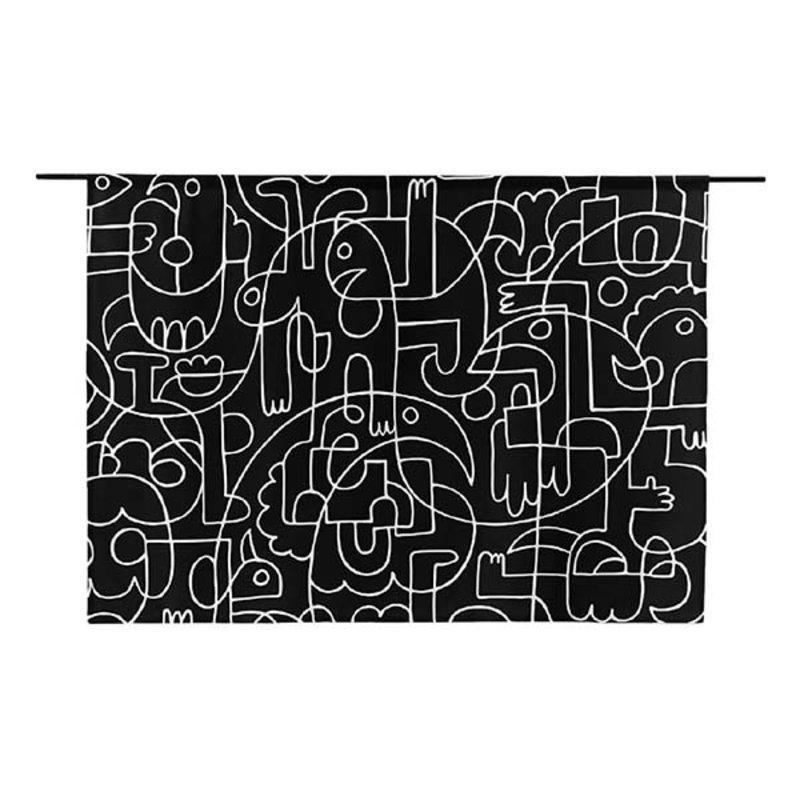 Urban Cotton Amsterdam-collectie Walldecoration Doodles