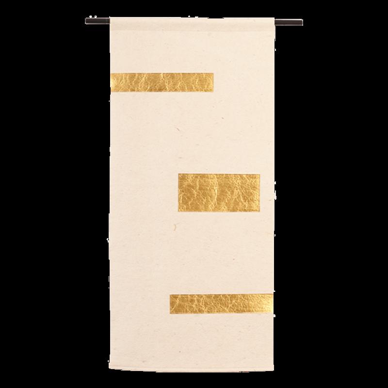 Urban Cotton Amsterdam-collectie Wandkleed Tropical Gold