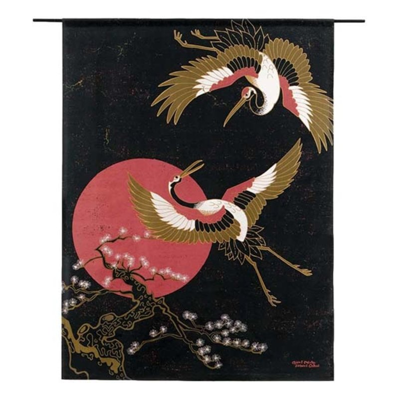 Urban Cotton Amsterdam-collectie Walldecoration Japanese Beauty