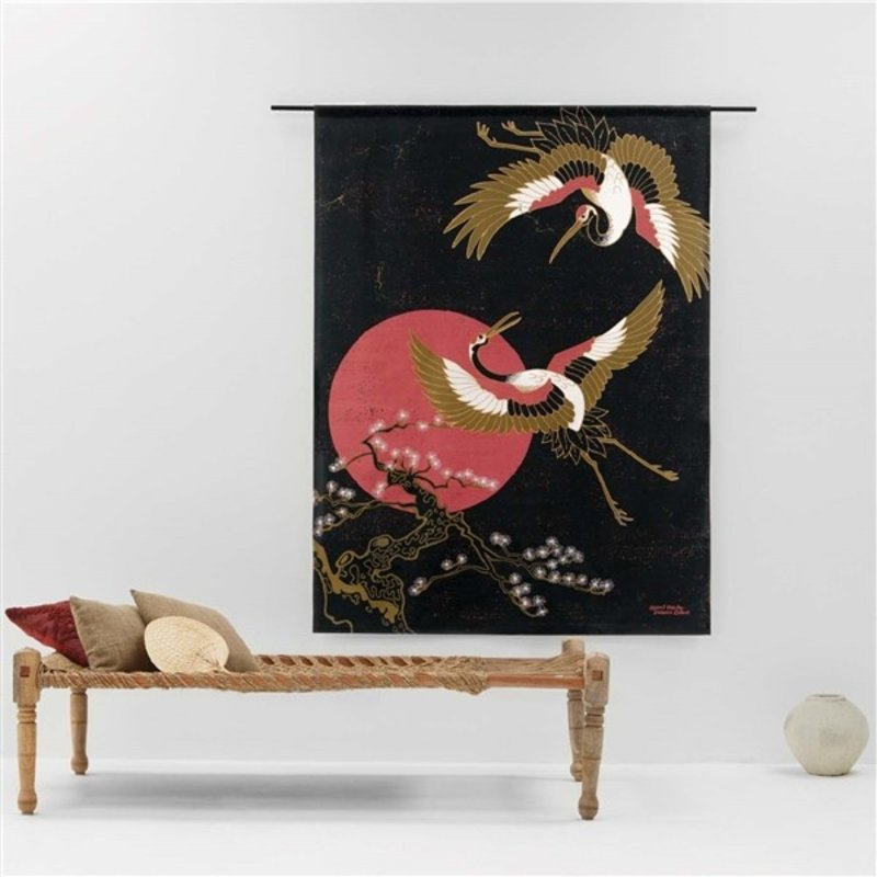 Urban Cotton Amsterdam-collectie Wandkleed Japanese Beauty