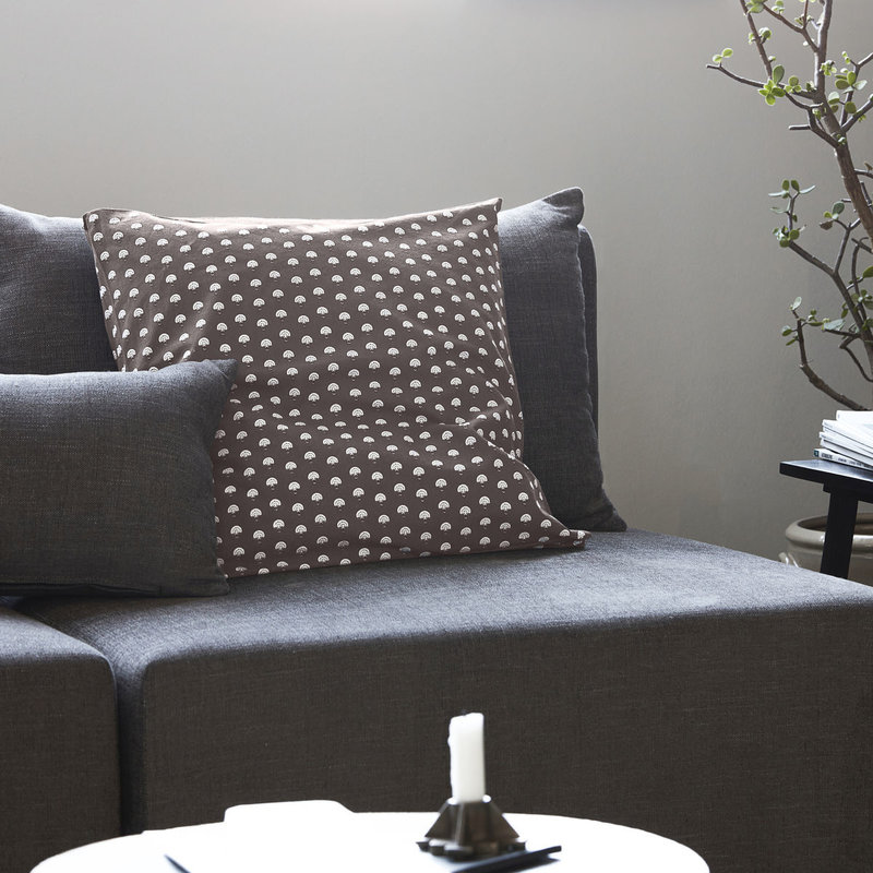 House Doctor-collectie Cushion cover Nero Grey