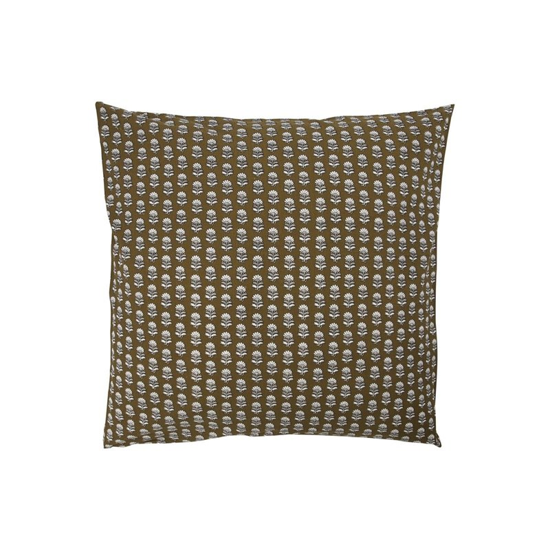 House Doctor-collectie Cushion cover Nero Camel