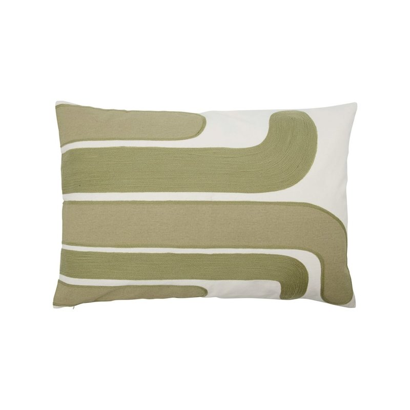 House Doctor-collectie Cushion cover Curve Sand