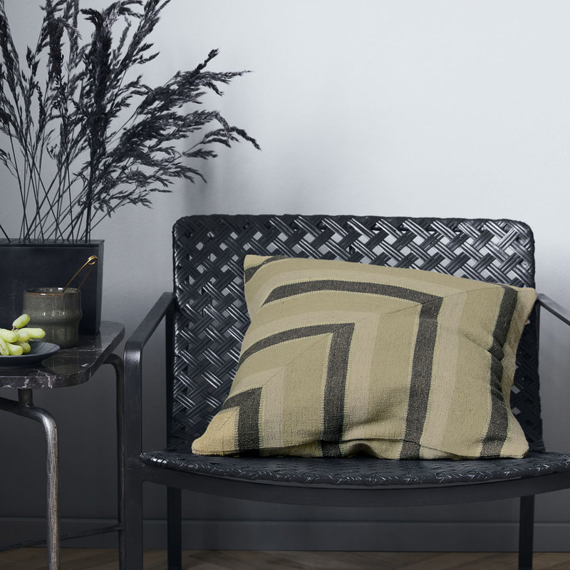 House Doctor-collectie Cushion cover Canva & Pete Beige/Grey