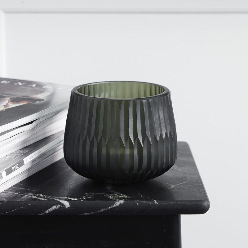 House Doctor-collectie Tealight holder Crown Green