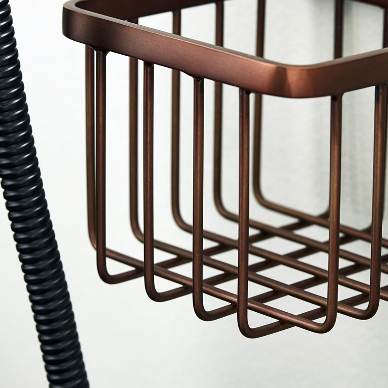 House Doctor-collectie Basket Bath Browned brass
