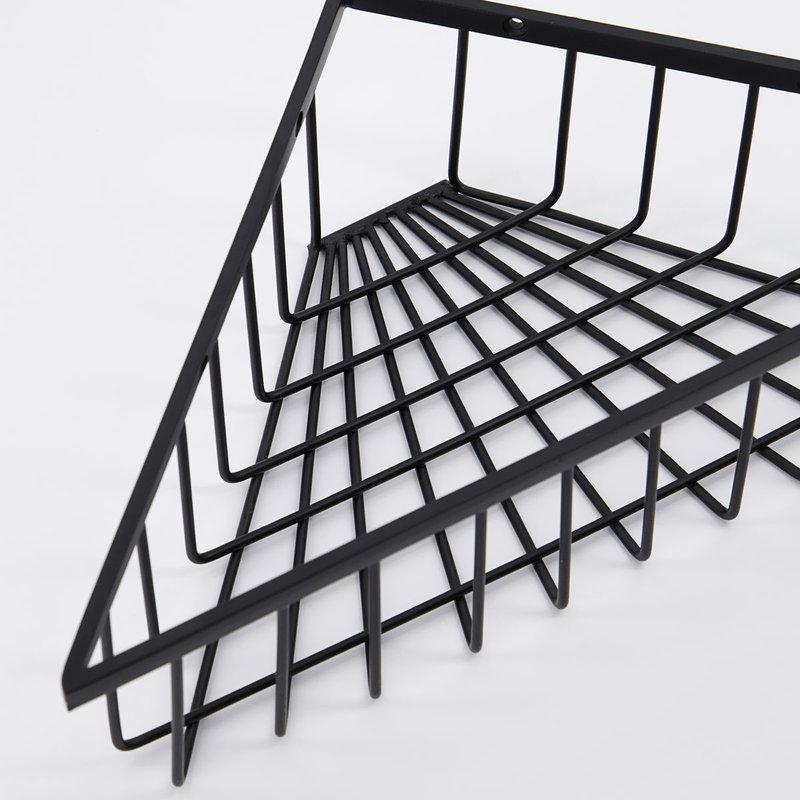 House Doctor-collectie Basket Bath Black