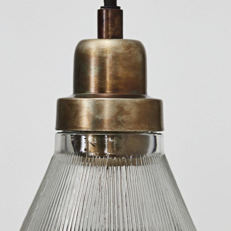 House Doctor-collectie Hanglamp Vira glazen kap