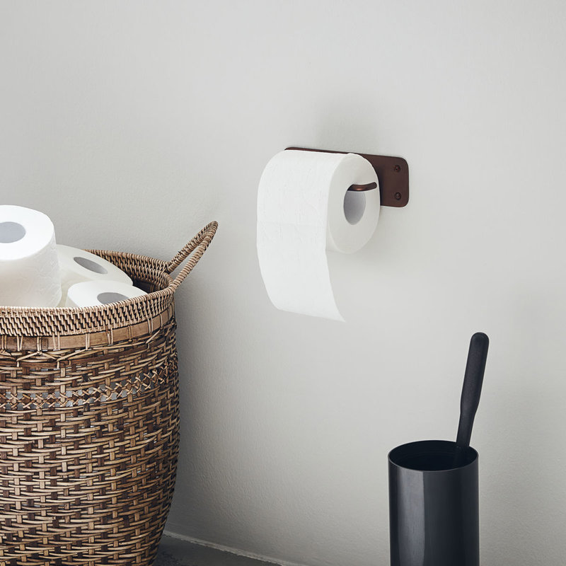 House Doctor-collectie Toilet paper holder Pati Browned brass