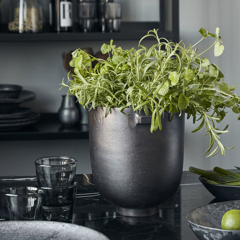 House Doctor-collectie Planter Foem Browned brass