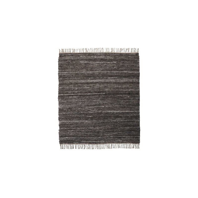 House Doctor-collectie Vloerkleed Hafi Bruin 180x180 cm