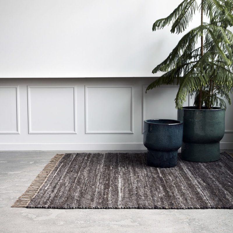 House Doctor-collectie Rug Hafi Brown