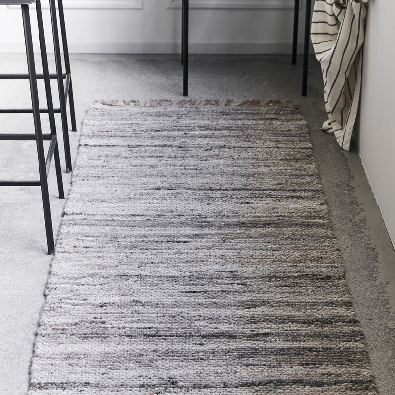 House Doctor-collectie Rug Hafi Grey/Brown