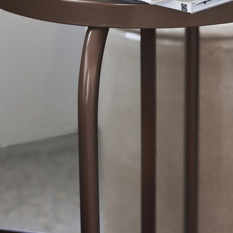 House Doctor-collectie Stool Shaker Golden brown