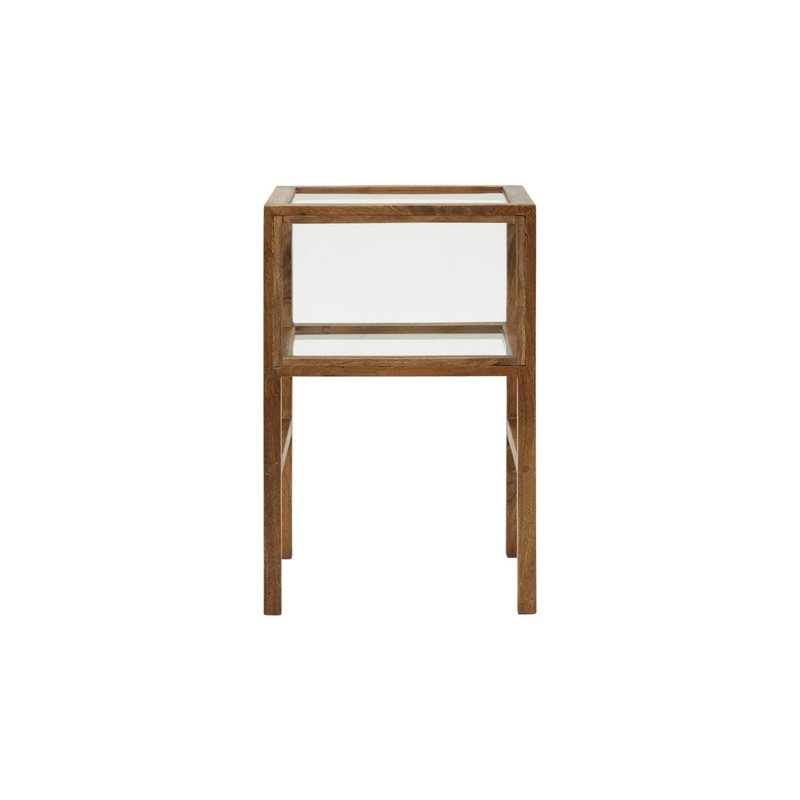House Doctor-collectie Side table Montre Antique brown