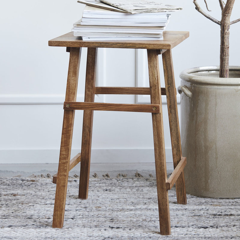 House Doctor-collectie Side table Laddi Antique brown
