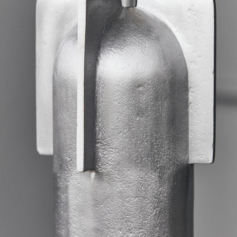 House Doctor-collectie hanglamp Akola Geborsteld zilver 23 cm