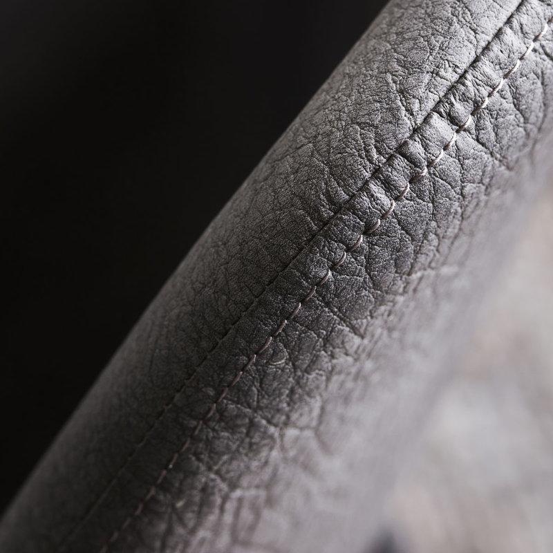 House Doctor-collectie Eetkamerstoel Found antiek grijs