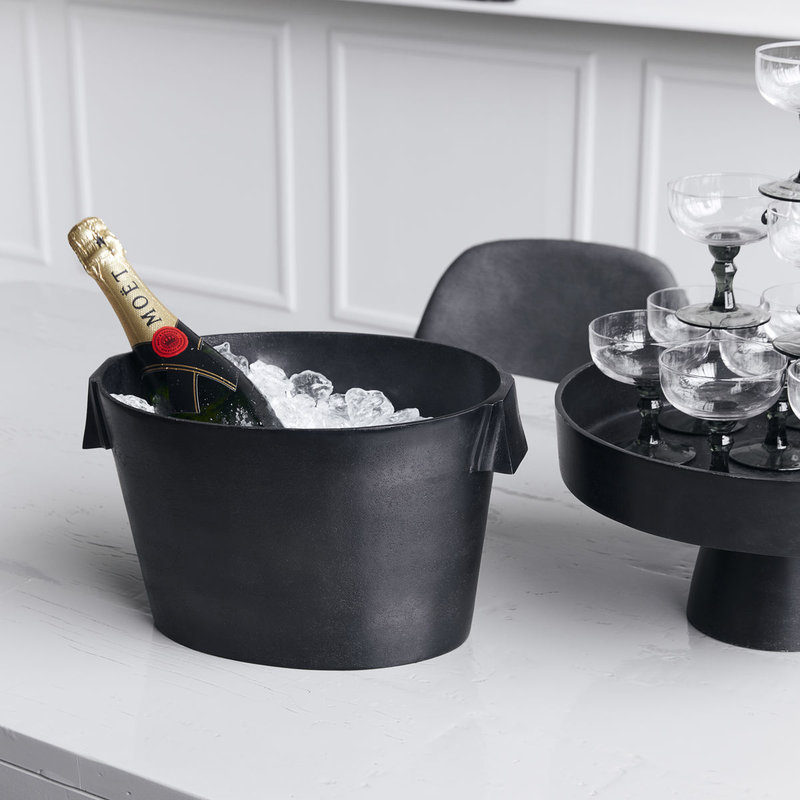 House Doctor-collectie Wine cooler Buck Browned brass