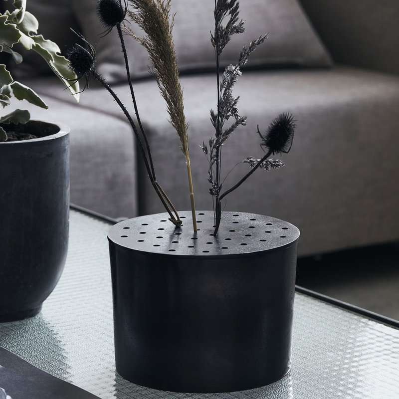 House Doctor-collectie Vase Flow Browned brass