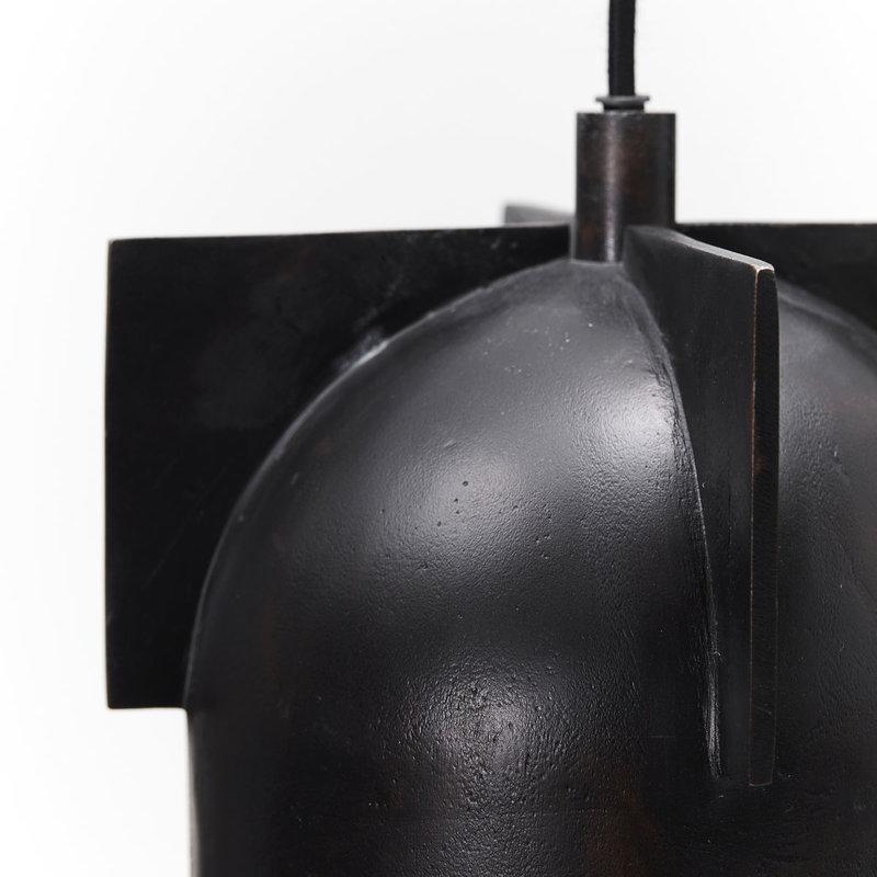 House Doctor-collectie Lamp Akola bruin brass 18 cm