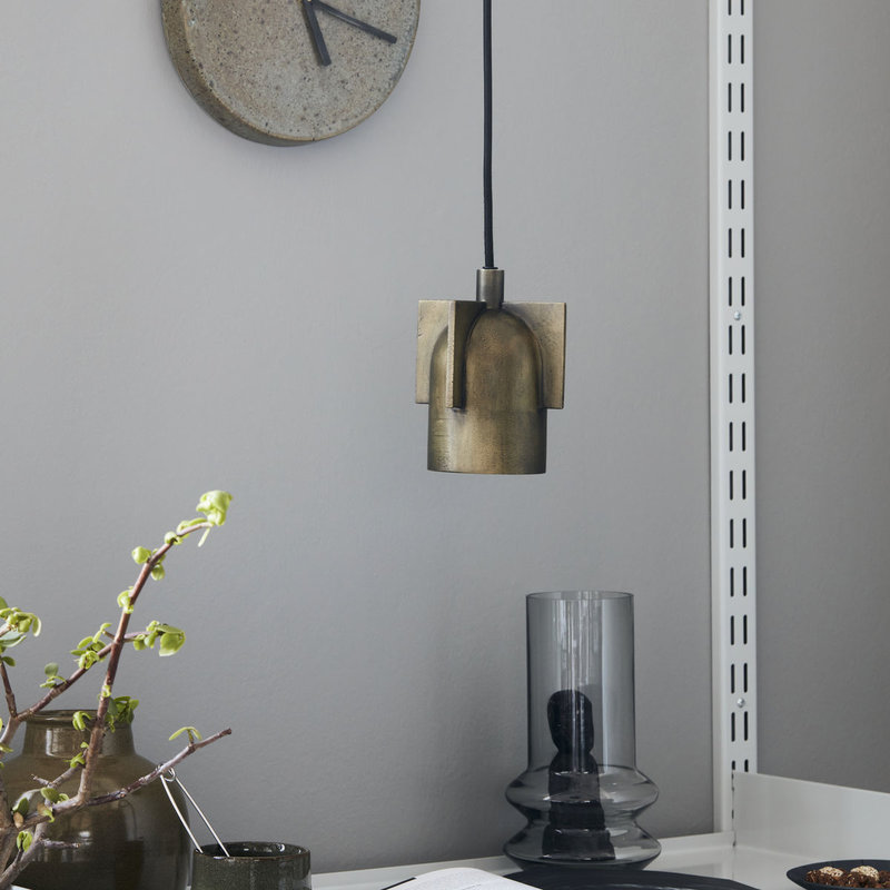 House Doctor-collectie Lamp Akola Antique brass