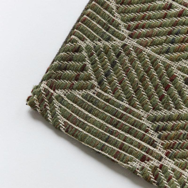 House Doctor-collectie Vloerkleed Agon Groen 180x180 cm