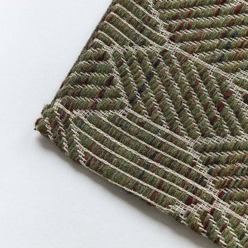 House Doctor-collectie Vloerkleed Agon Groen 250x250 cm