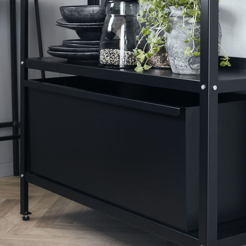 House Doctor-collectie Storage for shelving unit Use Black