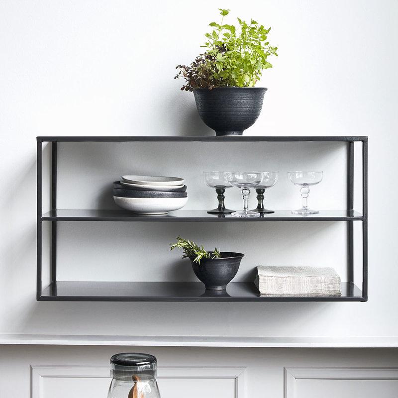 House Doctor-collectie Shelving unit Model C Black