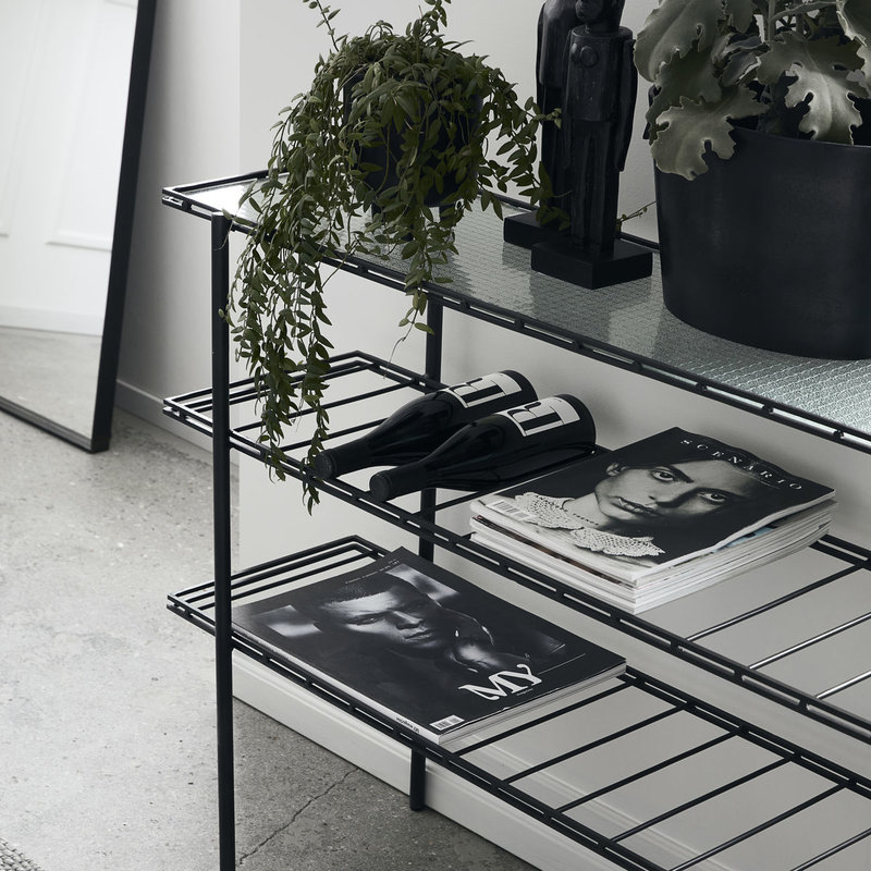 House Doctor-collectie Console/Table Gany Black