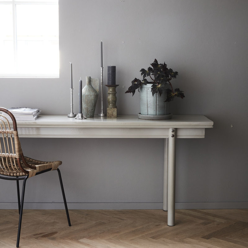 House Doctor-collectie Console table Barki Grey