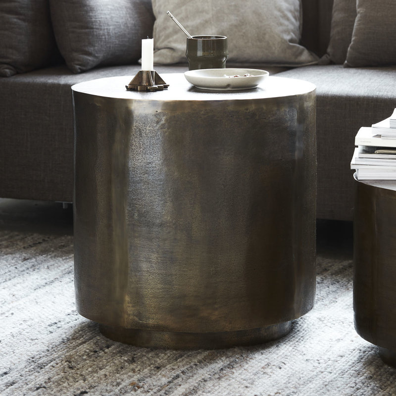House Doctor-collectie Coffee table Rota Antique brass
