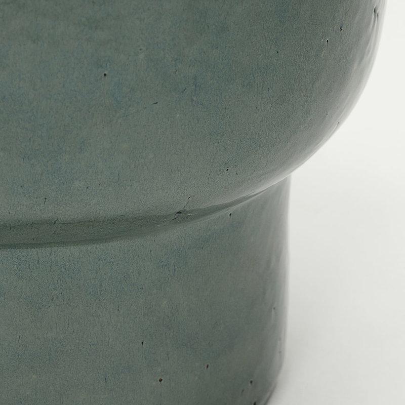 House Doctor-collectie Bloempot Terra Groen 45x40cm
